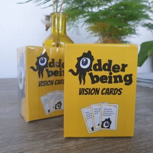 The Odder Being Vision Cards Duopack: picture your best future together